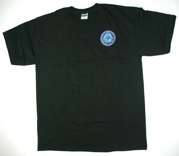 Astronomical League T-Shirt, Short Sleeve - Black