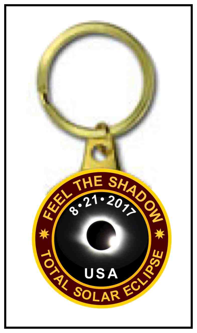 2017 Eclipse Commemorative Key Ring