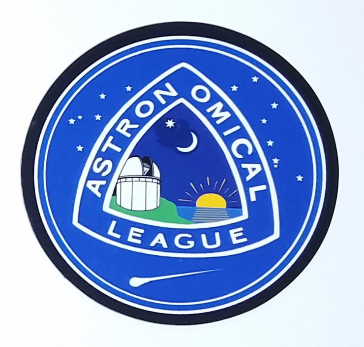 "Astronomical League 3"" Magnet"