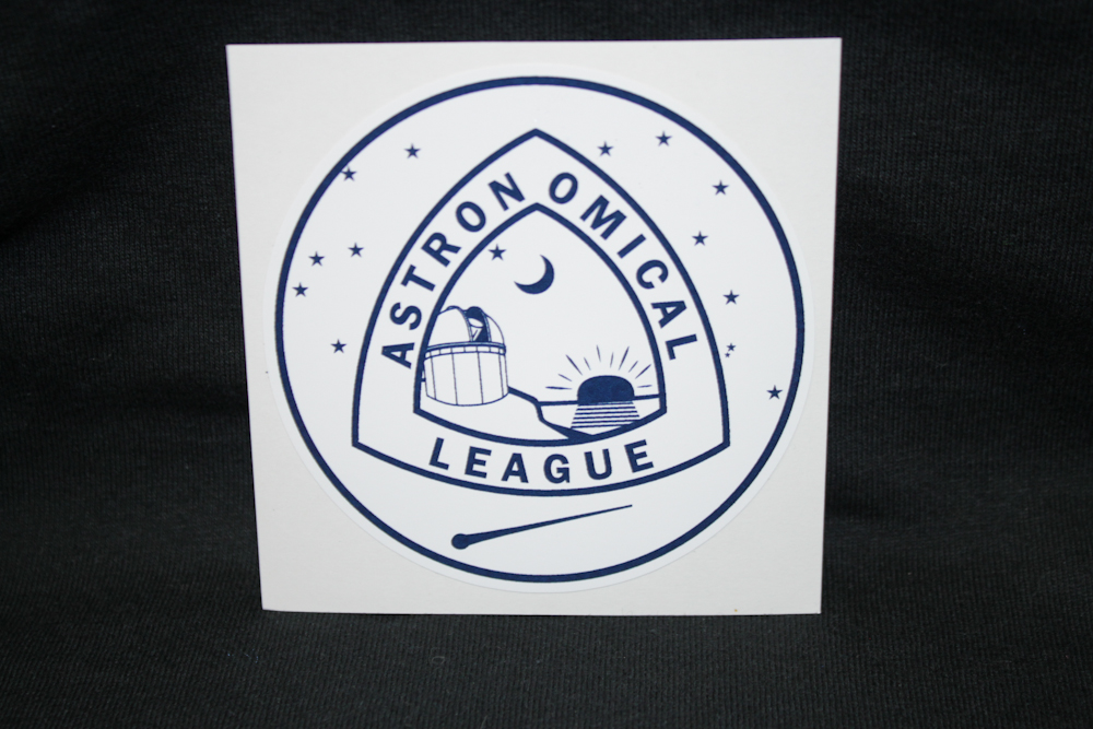 Astronomical League Vinyl Sticker