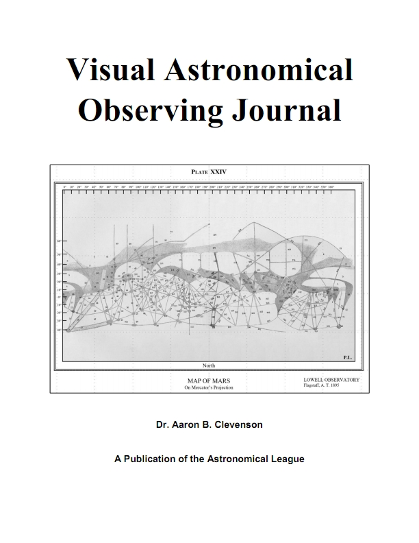 AL Visual Astronomical Observing Journal (Logbook)