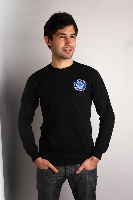 Astronomical League T-Shirt, Long Sleeve - Black