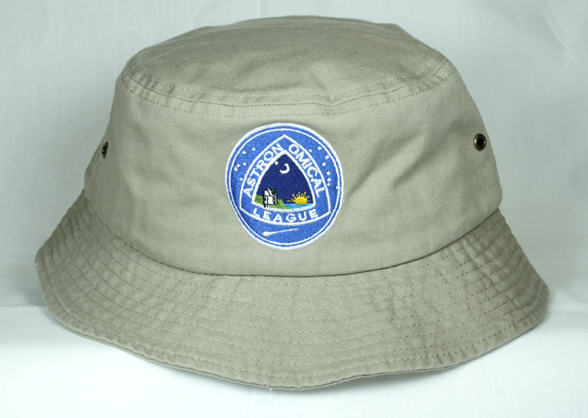 Astronomical League Embroidered 2050 Sportsman Bucket Hat