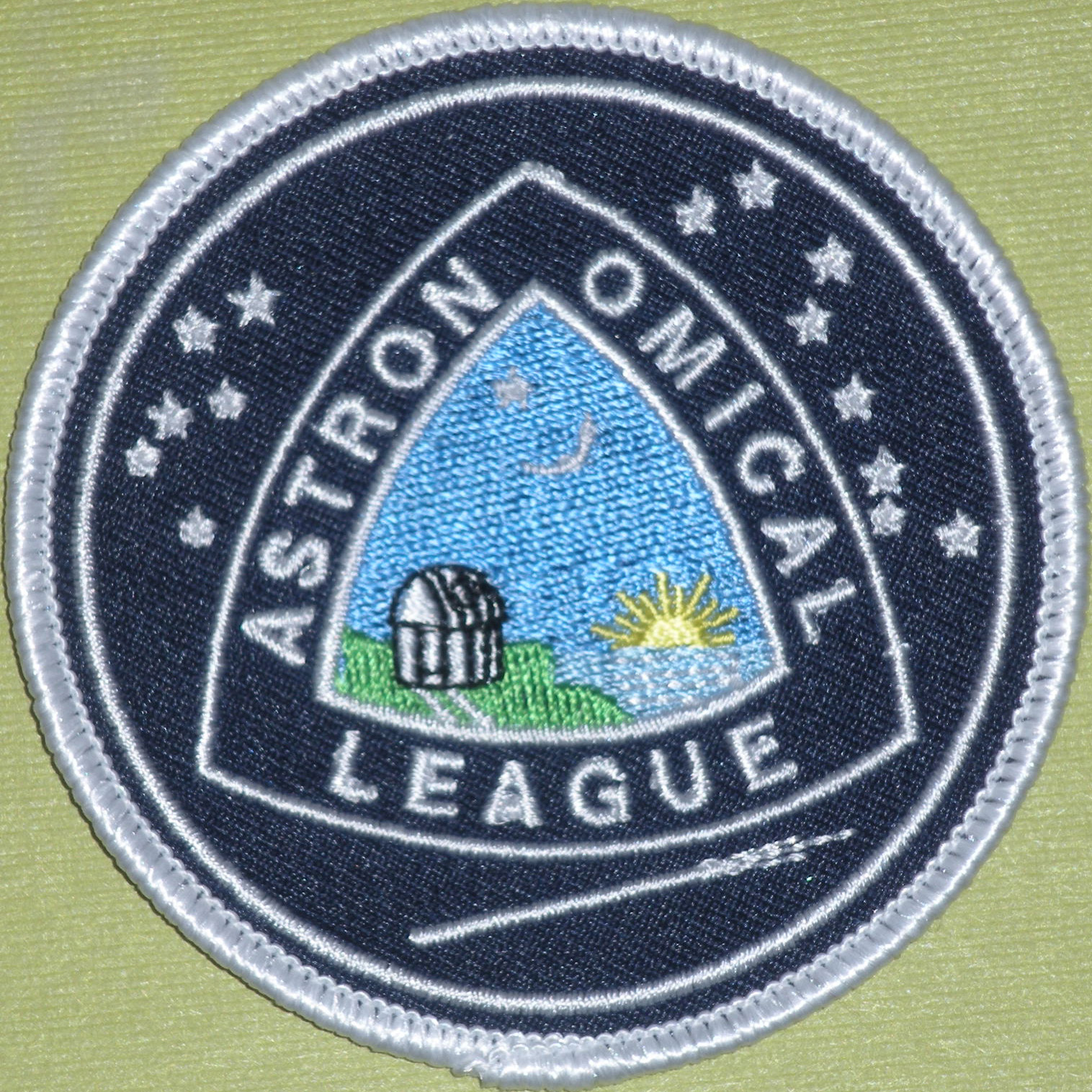 Astronomical League Cloth Patch - 4 color