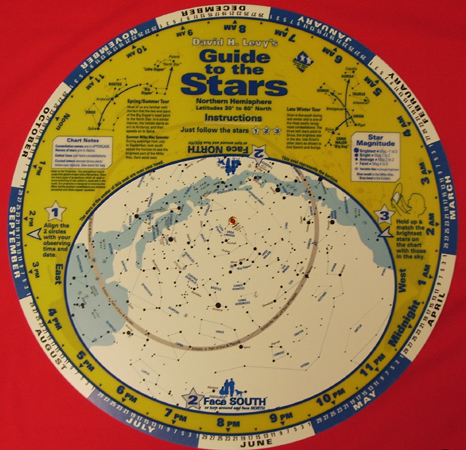 "16"" Planisphere - Guide to the Stars"