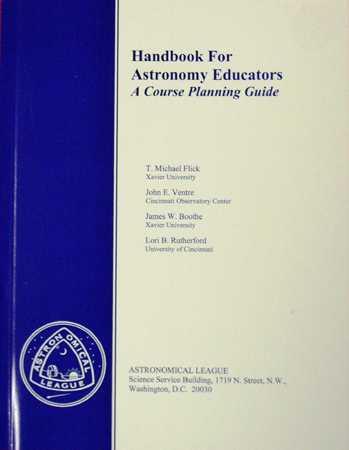 Handbook for Astronomy Educators - Click Image to Close