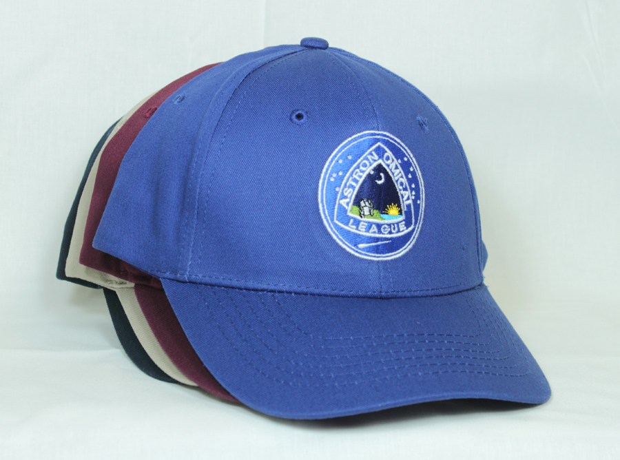 Astronomical League Embroidered Velcro Strap Baseball Cap