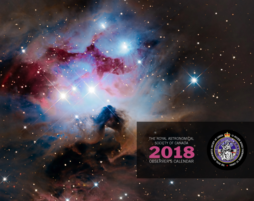 12+ RASC Observer's Calendar 2018 - Free Shipping included!