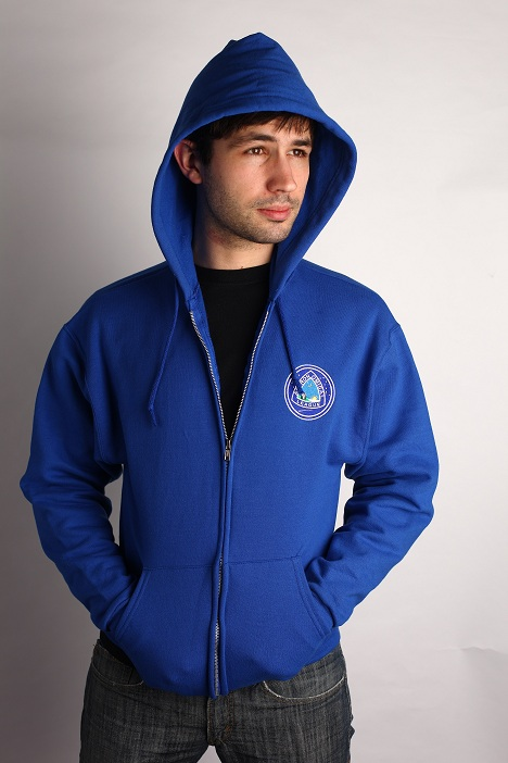 Astronomical League Sweatshirt, Hoodie Zip - Royal
