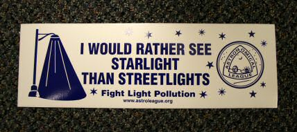 """I'd Rather See Starlight"" Bumper Sticker"