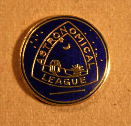 Astronomical League Lapel Pin